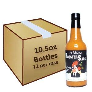 De Mars'S Rooser Sauce: 10.5Oz Case (12 Bottles/Case)