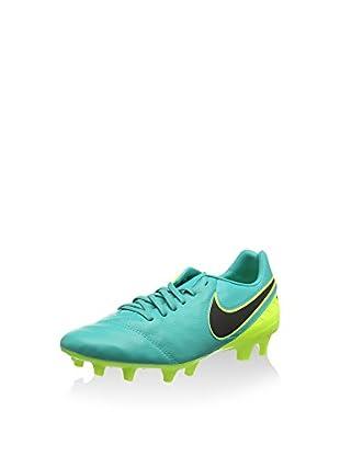 Nike Botas de fútbol Tiempo Mystic V Fg (Verde / Lima)