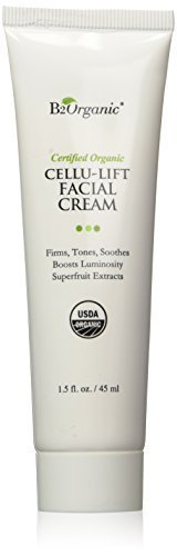 B2Organic Cellu-Lift Facial Cream, 1.5 Fluid Ounce by B2Organic