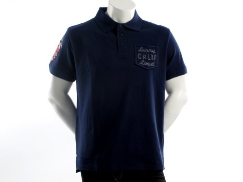 Lenny&loyd 26145terminal Straight Blue Man Polo Shirts Men - M