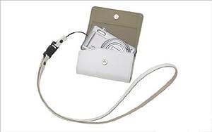 OLYMPUS デジタルカメラケース 本革 ホワイト CSCH-83