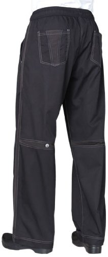 Chef Works Men's Cool Vent Baggy Chef Pant (CVBP) (Chef Works Vented compare prices)