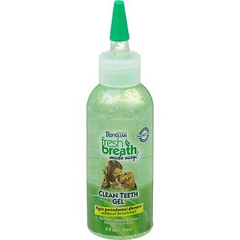 Tropiclean Fresh Breath Clean teeth gel holistic Made in USA
