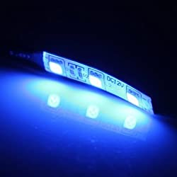 2pcs DC 12V LED 3-5050-SMD Strip Lights Lamp Motorcycle Auto Bike Lighting