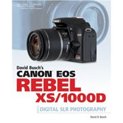 New Cengage David Busch Canon Eos Rebel Xs 1000d Guide Digital Slr Photography Easy Follow Lessons
