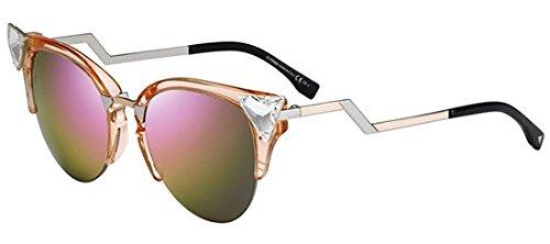 fendi-womens-0041-transparent-peach-palladium-frame-pink-multilayer-lens-plastic-sunglasses