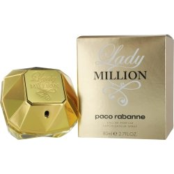 PACO RABANNE LADY MILLION by Paco Rabanne for WOMEN: EAU DE PARFUM SPRAY 2.7 OZ