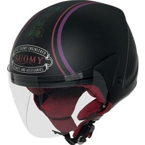Suomy Jet Light Morph Helmet - X-Small/Black/Black