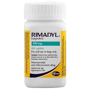 Rimadyl (carprofen) 100 Mg, 60 Caplets Picture