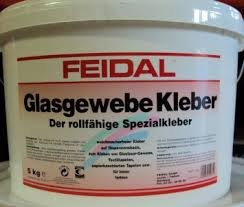 feidal-glasgewebe-kleber-10-kg-transparent-rollfahiger-weichmacherfreier-kleber-auf-dispersionsbasis