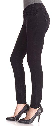 WallFlower Juniors Short Inseam Luscious Curvy Skinny Jeans the wallflower 28