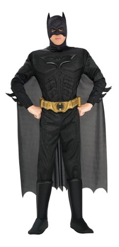 Batman The Dark Knight Rises Adult Batman Costume - XS to XL