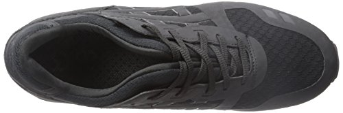 ASICS GEL Lyte III NS Retro Running Shoe, Black/Black, 5 M US