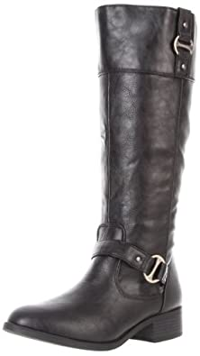 Rampage Women's Iben Riding Boot,Black,10 M US