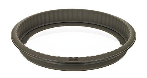 lurch-85009-flexiform-quiche-con-diseno-de-estante-de-cristal-26-cm-marron