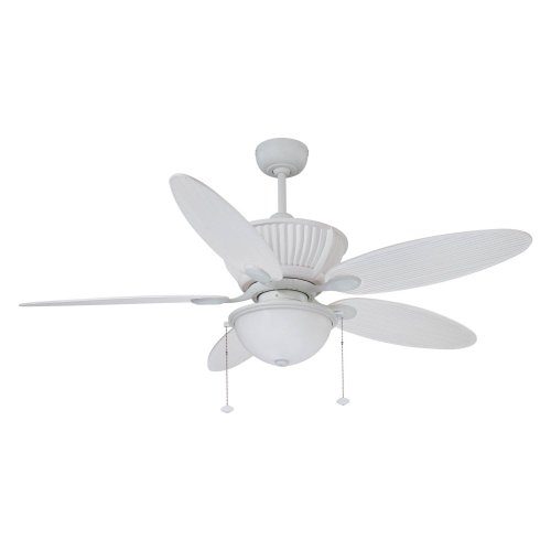 Ellington NET52MWW5C Neptune 52 in. Outdoor Ceiling Fan - Matte White