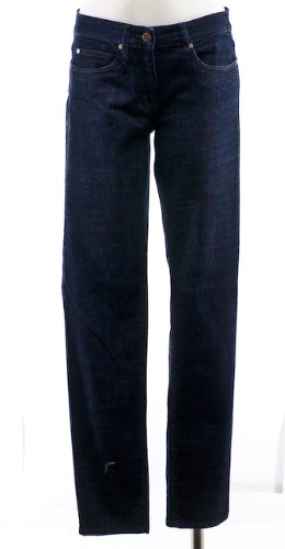 Eileen Fisher Organic Cotton Stretch Denim Skinny Leg Jean Pant 2