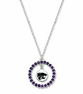 NCAA Kansas State Wildcats LogoArt Spirit Necklace by Logo Art