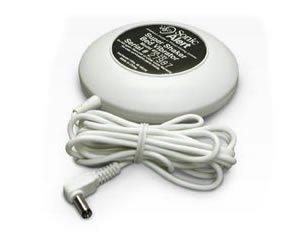New Sonic Bomb Alert Super Shaker Bed Vibrating Unit 12 Volts White Mattress Box Springs Wake Up