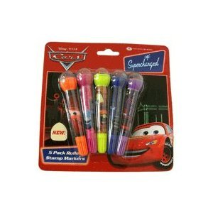 disney cars autos stempel und filzstifte set spielzeug. Black Bedroom Furniture Sets. Home Design Ideas