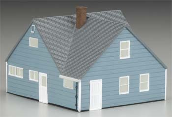 Levittown Rancher House Ho Scale Imex