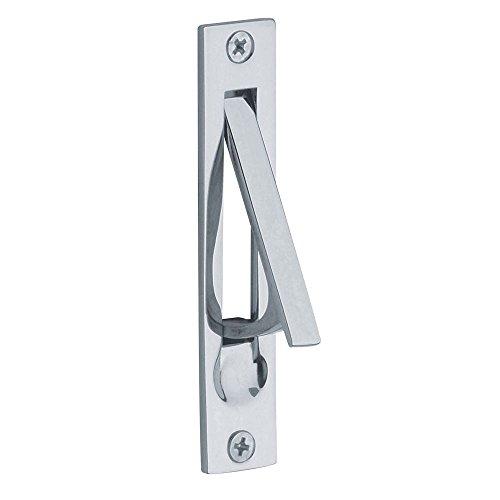 Baldwin 0465.260 Edge Pull, Chrome (Chrome Pocket Door Lock compare prices)