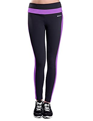 Baleaf Women's Active Ankle Legging Hidden Pocket