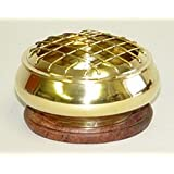 Brass Screen Charcoal Incense Burner