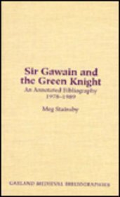 Sir Gawain amp the Green Knight A Secondary Bibliography 1978-1989 Garland Medieval Bibliographies
