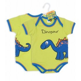 Dino Onesie - Animal Crackers collection by Mud Pie