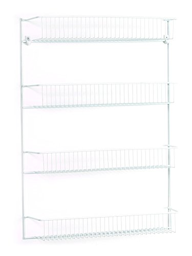 ClosetMaid 8033 4-Tier Wall Rack, 18-Inch Wide (Wire Wall Shelving compare prices)