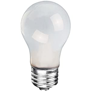 Globe Electric 04002 A15 Specialty And Appliance Light Bulb Incandescent Bulbs