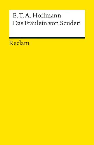Das Fraulein Von Scuderi (German Edition)