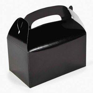 Dozen Black Treat Boxes