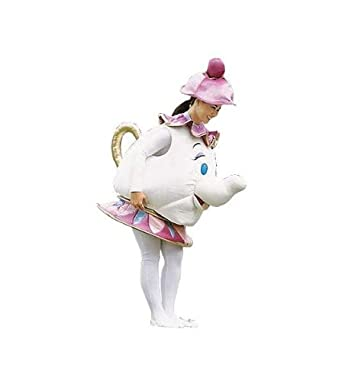 Disney Store MRS POTTS Adult ladies Costume Size XXL Beauty & The Beast