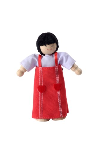 Plan Toys Asian Mom Doll - 1