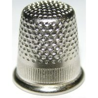 Nickel Plated Brass Thimble Size 3 (10 Pack)