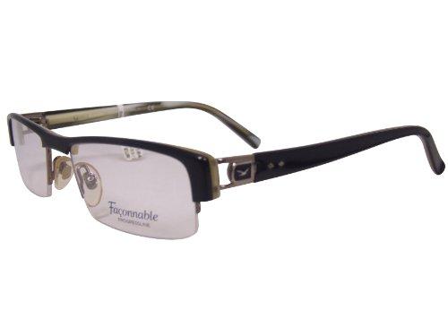 Occhiali da uomo FACONNABLE heliobil FP2098 col 426 Nero Gr 53-20