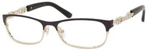 Jimmy Choo JIMMY CHOO Eyeglasses 78 08S8 Brown Rose Gold 53MM