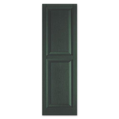 Where To Buy Alcoa Mastic Crp1271 56 12 X 71 Dark Spruce Raised Panel Vinyl Exterior Shutters