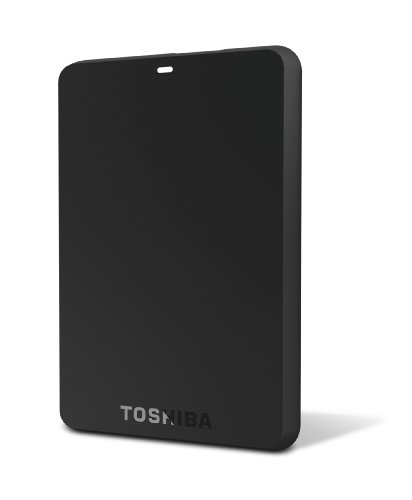 Toshiba Canvio 1.0 TB USB 3.0 Basics Portable Hard Drive - HDTB110XK3BA (Black)