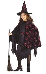 Glitter Witch Child Costume Size 4-6 Small
