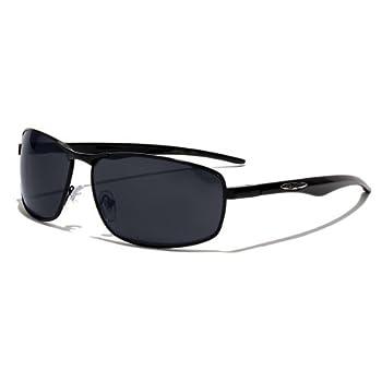 X-Loop Lunettes de Soleil Aviator - Ville - Mode - Fashion - Clubbing - Conduite - Moto - Plage / Mod. 4270 Noir / Taille Unique Adulte / Protection 100% UV400