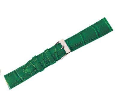 Leather Watch Band Crocodile Dk. Green (18mm) Regular NA32-181 maikes watch accessories 16mm 18mm 20mm 22mm watch band genuine leather watch strap fashion green for gucci women watchbands