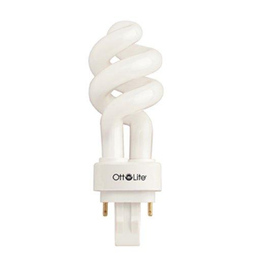 Ott-lite 13 Watt Plug In Swirl Compact Fluorescent Light Bulb Ottlite