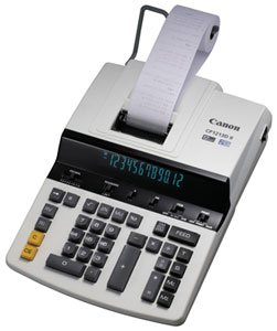 12-Digit Heavy-Duty Print Calculator with Fluorescent Display (CNMCP1213DII)