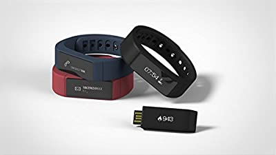 Viout® I5 Plus Bluetooth 4.0 Smart Bracelet Sports Fitness Tracker Bluetooth Smart Wristband, IP67 Waterproof Wearable fitness band With Pedometers Incoming Calls/SMS notice Sleep Monitoring Anti-lost for Android and iPhone Smart Phone