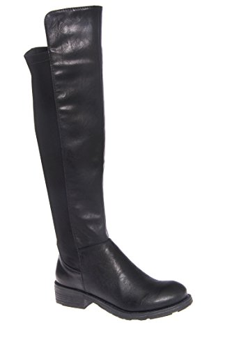 Tess Low Heel Knee High Boot