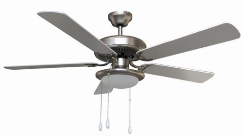Milano 132cm Ceiling Fan with Central Light