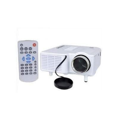 Unic 48 lm LED Corded Portable Projector (White)